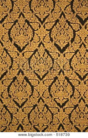 Thai Temple Pattern