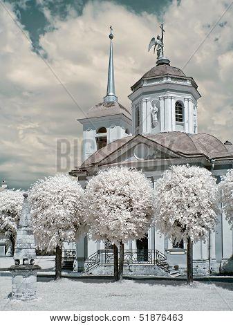 Church In A Farmstead Kuskovo