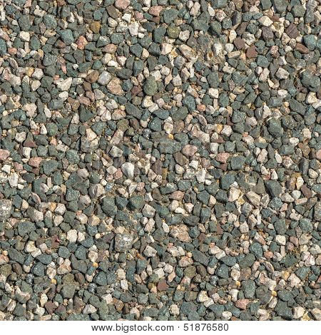 Seamless Tileable Texture of Crushed Granite.