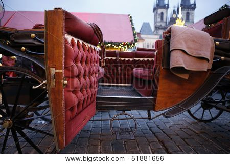 Beautiful Old Carriage