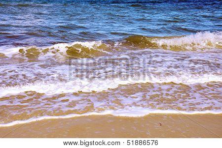 Ocean Waves, Taken At Henley Beach Shore In South Australia.