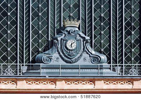 Facade Of Atocha Railway Station, Madrid