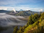 stock photo of gunung  - Gunung Bromo - JPG