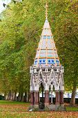 Buxton Memorial Fountain in London, England