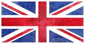 foto of british culture  - Grunge UK flag - JPG