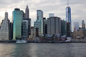 South Street Seaport Skyline
