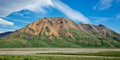 picture of denali national park  - Landscape view of Alaska - JPG