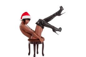 pic of woman g-string  - Sensual black ethnic African - JPG