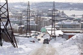 stock photo of murmansk  - Municipal landscape - JPG