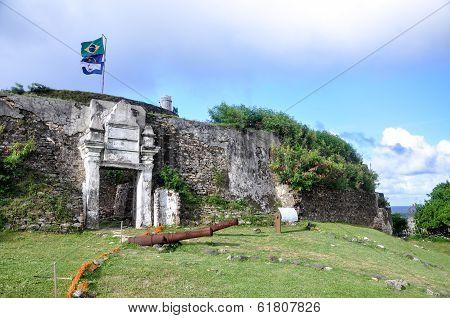 Fort Nossa Senhora Dos Remedios, Fernando De Noronha, Pernambuco (brazil)