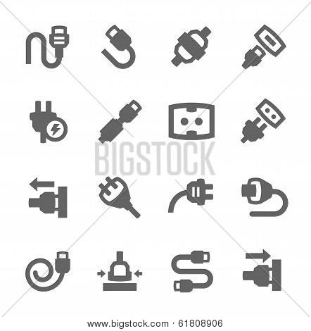 Plug in icons