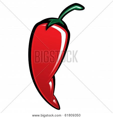 Extremely Red Hot Chili Pepper