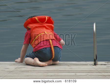 Boy On The Dock