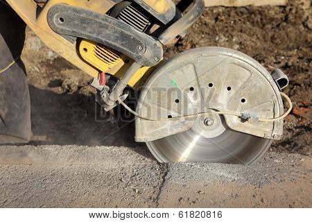 Construction Site, Cut Tool
