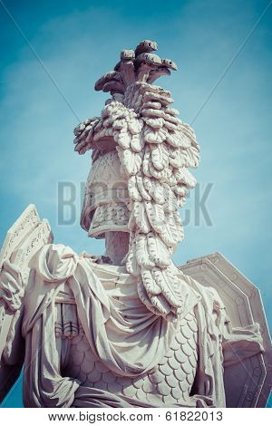 Vienna, Austria - March 20 : View On Gloriette In Schonbrunn Palace, Vienna, Austria On March 20, 20