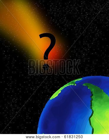 Question Over The Earth