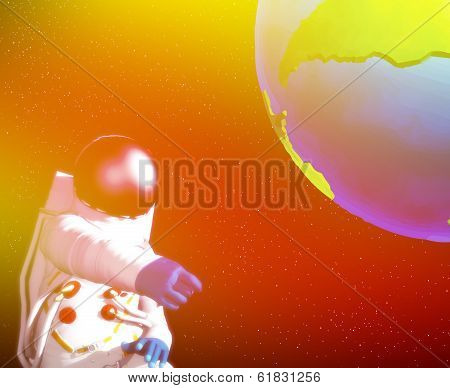 Spaceman And Earth