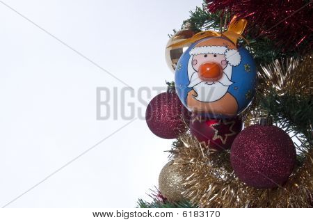 Santa Claus novelty decoration