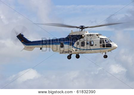 German Air Force Cougar Helicopter