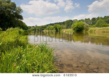 Along The Banks Of The Grand River