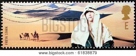 Freya Stark Stamp