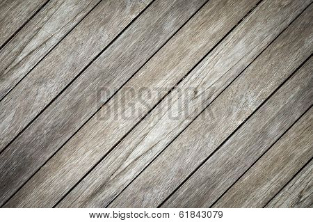 Old Wooden Background And Crosswise