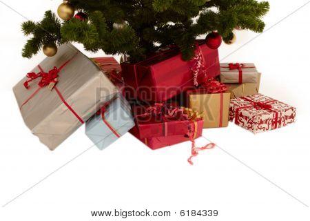 Christmas Tree - Presents Under A Tree