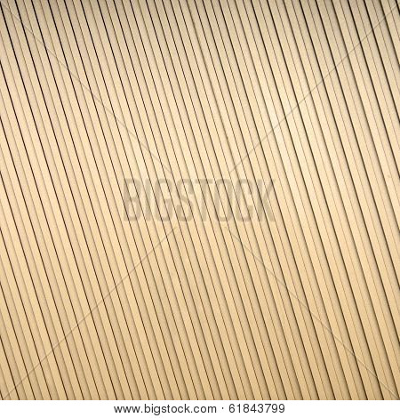 Gold Corrugated Metal