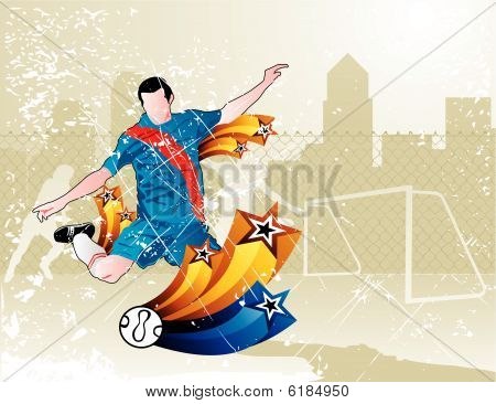 soccer vector illustration