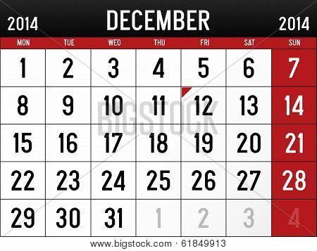 December 2014
