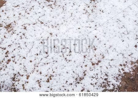 Melting Snow Pattern
