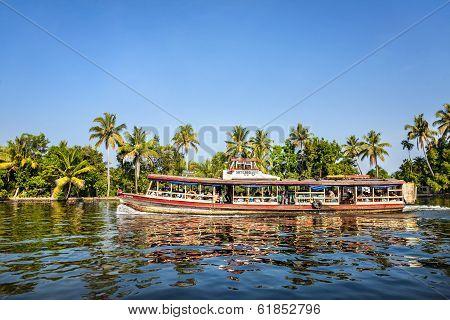 Aqua Bus At Backwaters