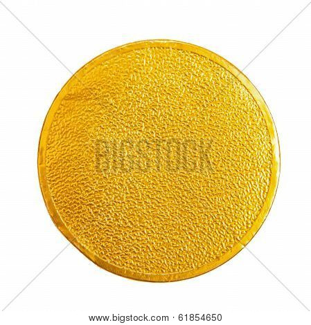 Gold Chocolate coin