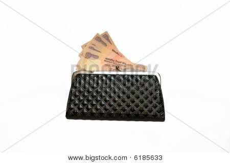 Currency In Purse