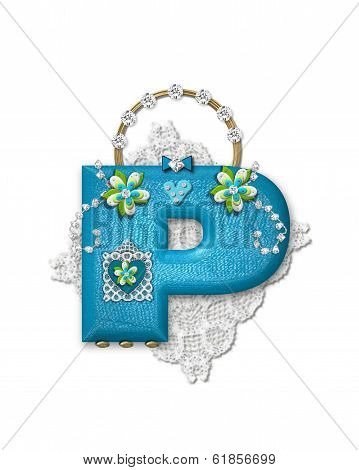 Alphabet Bling Bag P