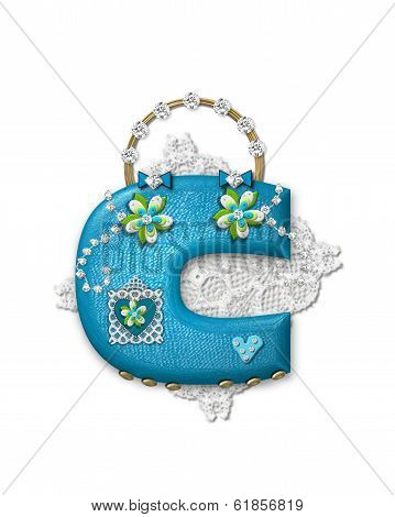Alphabet Bling Bag C