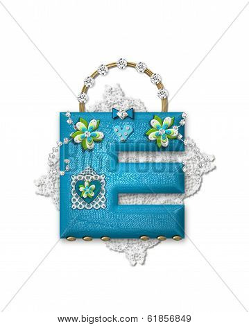 Alphabet Bling Bag E
