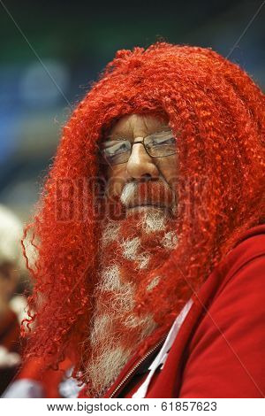 Curling Canada Fans Beard Red Hair