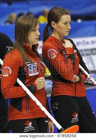 Curling Women Canada Homan Miskew