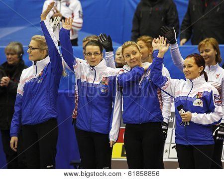Curling Women Czech Republic Team