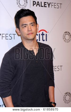 LOS ANGELES - MAR 19:  John Cho at the PaleyFEST -