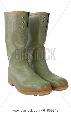 Galoshes Slant With Clipping Path