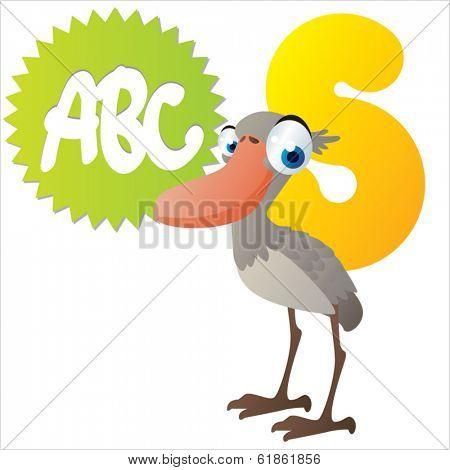 S is for Shoebill
