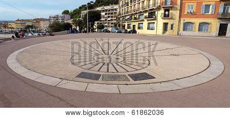 Nice - Sundial