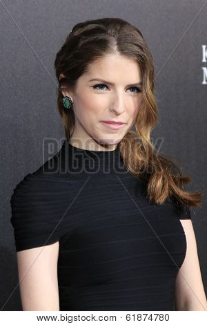 LOS ANGELES - MAR 20: Anna Kendrick at the 2nd Annual Rebels With A Cause Gala at Paramount Studios on  March 20, 2014 in Los Angeles, California