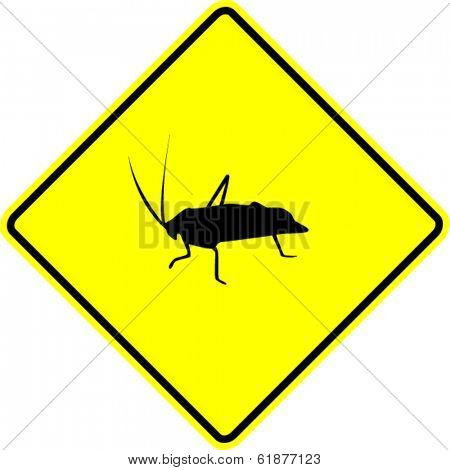 cricket or grasshopper sign