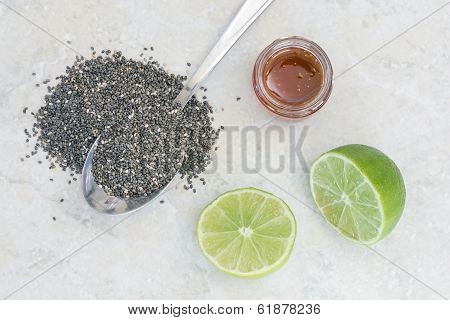 Chia Beverage Ingredients