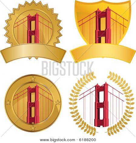 Golden Gate Bridge Set