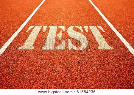 Test On Running Track