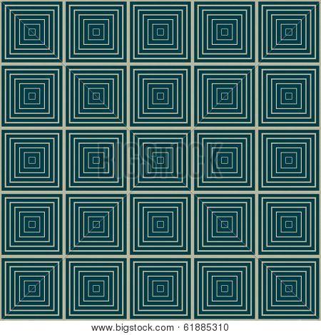 seamless illusion geometric square pattern